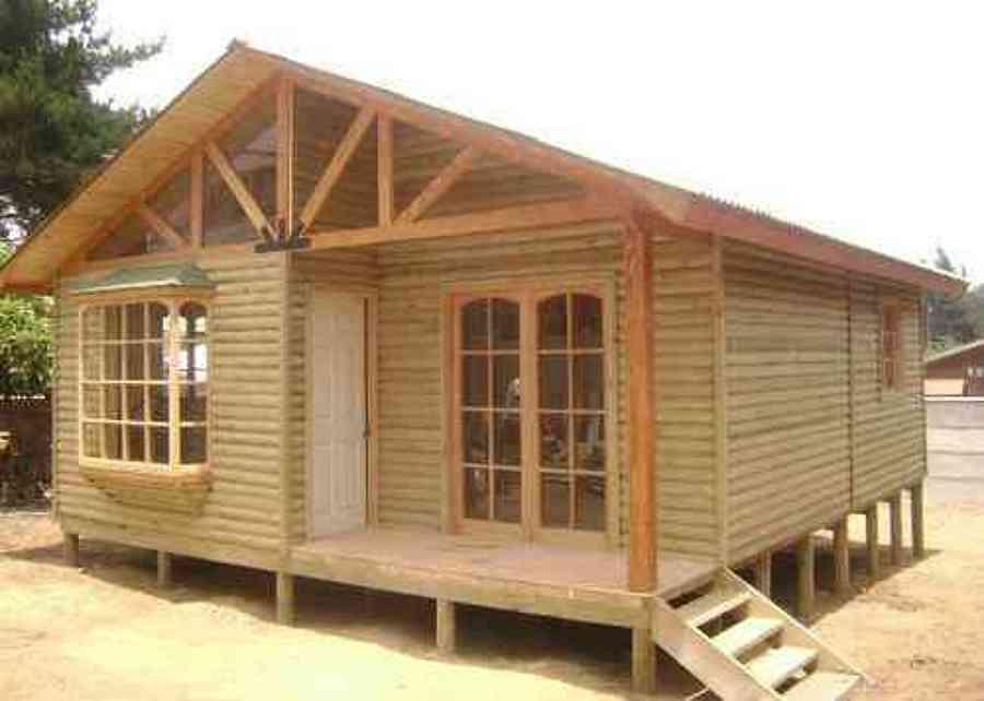Casa prefabricada o construcci n en el lugar santiago - Como hacer una casa prefabricada ...