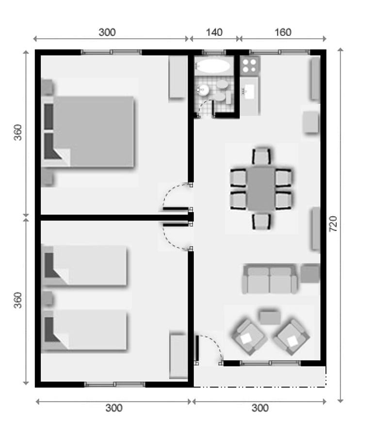 Una casa caba a prefabricada castro regi n x los lagos - Precio de una casa prefabricada ...