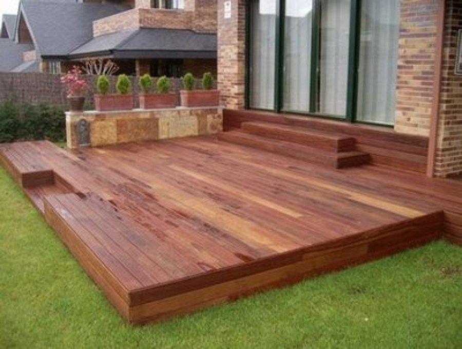 Precio para terraza piso deck lo prado regi n for Cuanto sale hacer una piscina en chile