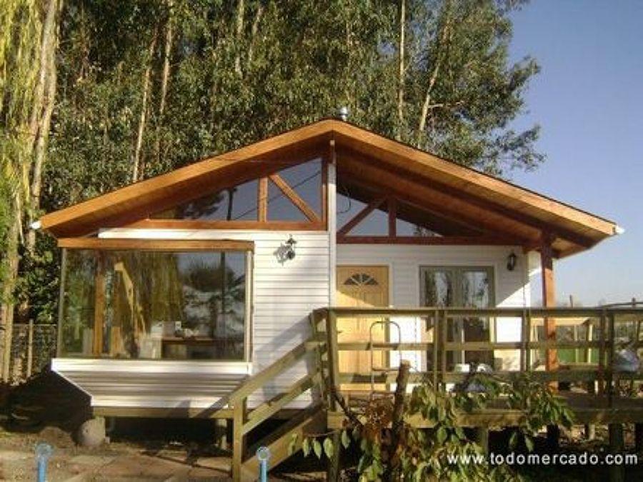 Construir casa prefabricada 3 dormitorio 2 ba os colb n - Casas de madera y piedra prefabricadas ...