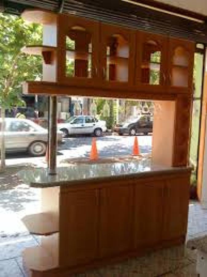 Amueblar barra de cocina americana como mueble separador for Imagenes de muebles de cocina americanas