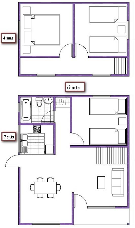 Construir casa dos pisos san bernardo regi n - Presupuesto construir casa ...