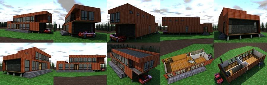 Construccion casa 2 pisos 170 metros cuadrados melipilla for Precio instalacion electrica piso 90 metros