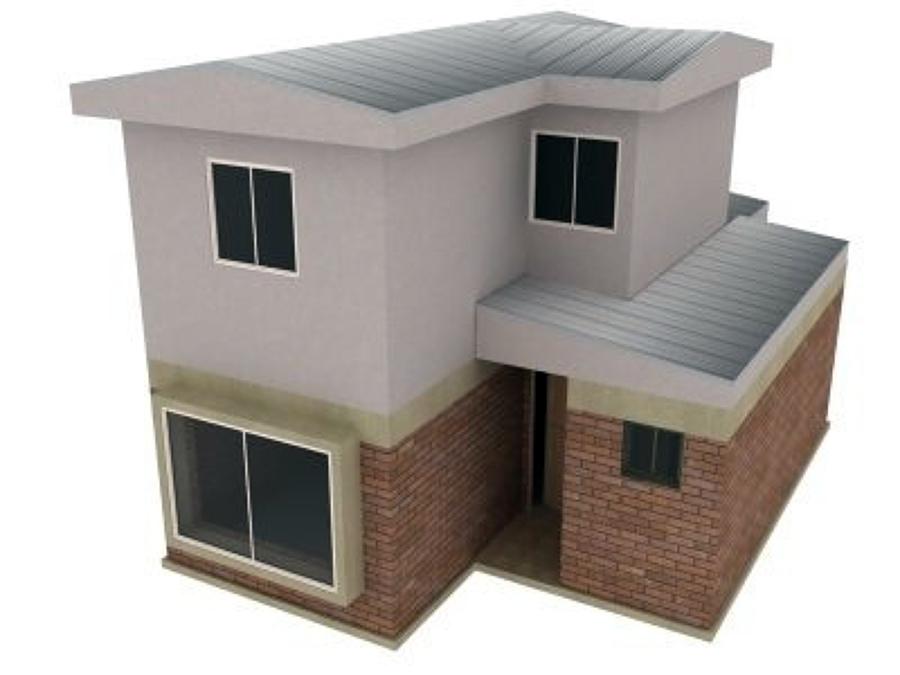 Casa de dos pisos maip regi n metropolitana santiago - Presupuesto construir casa ...