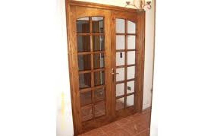 Mampara de madera 2 puertas quilicura regi n for Presupuesto puertas de madera