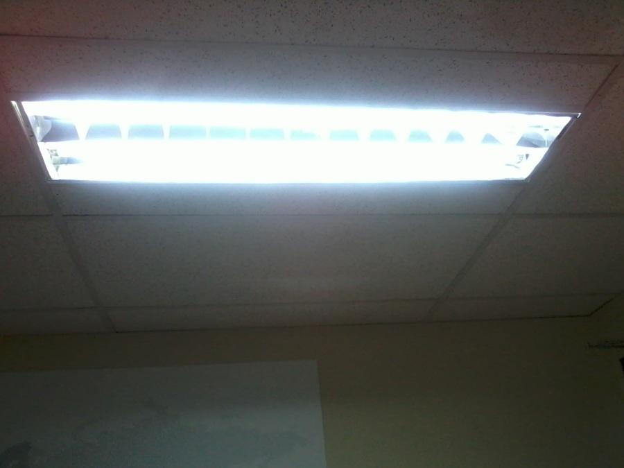 Instalar lampara de techo doble tubo providencia regi n - Instalar lampara techo ...