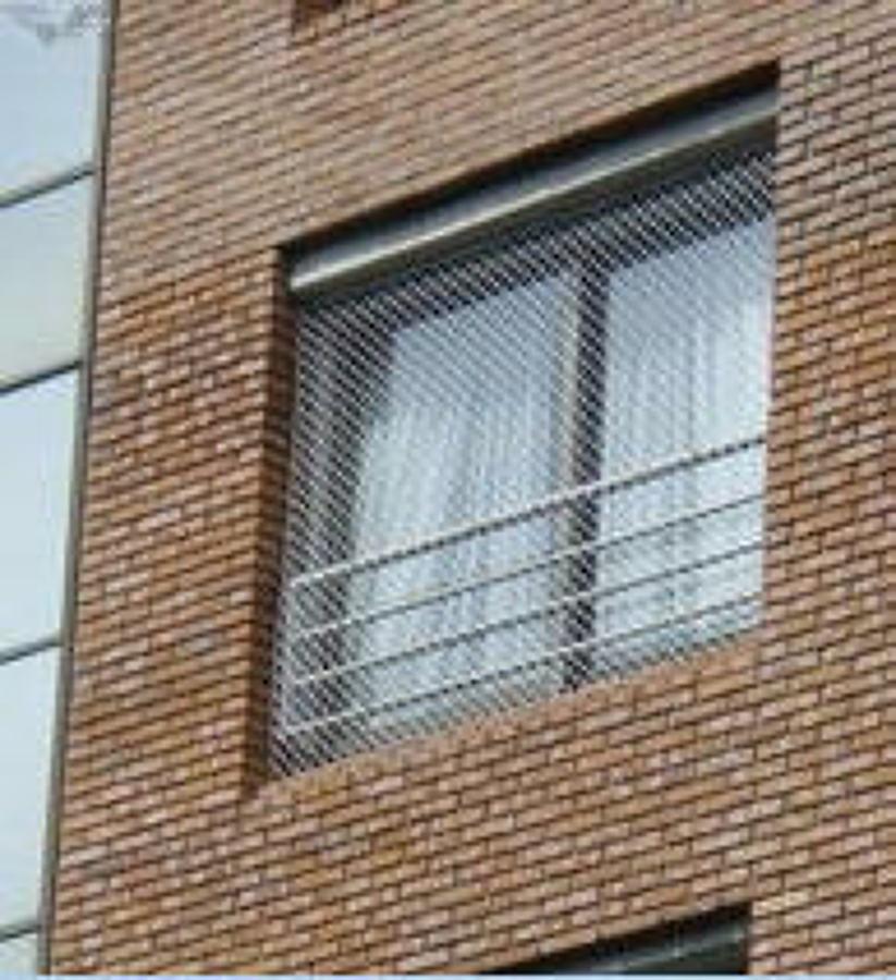 Hacer 2 rejas de protecci n para ni os para ventanas - Malla para balcones ...