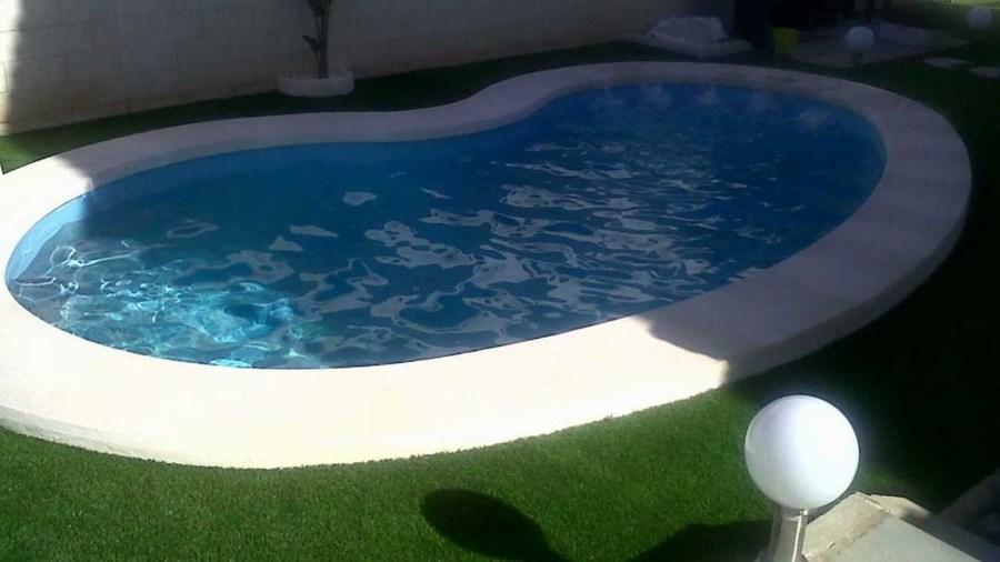 Construir piscina en forma de ri on peque a copiap for Precio piscina pequena obra
