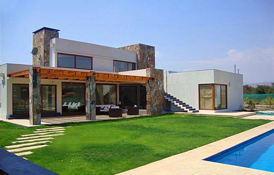 Casa estilo mediterraneo maip regi n metropolitana - Casas con estilo ...
