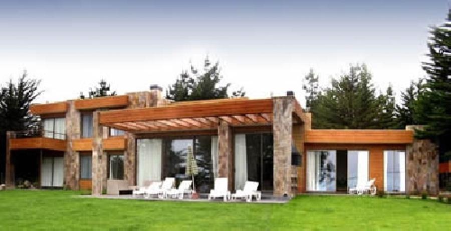 Casa estilo mediterraneo maip regi n metropolitana for Como construir una piscina en chile