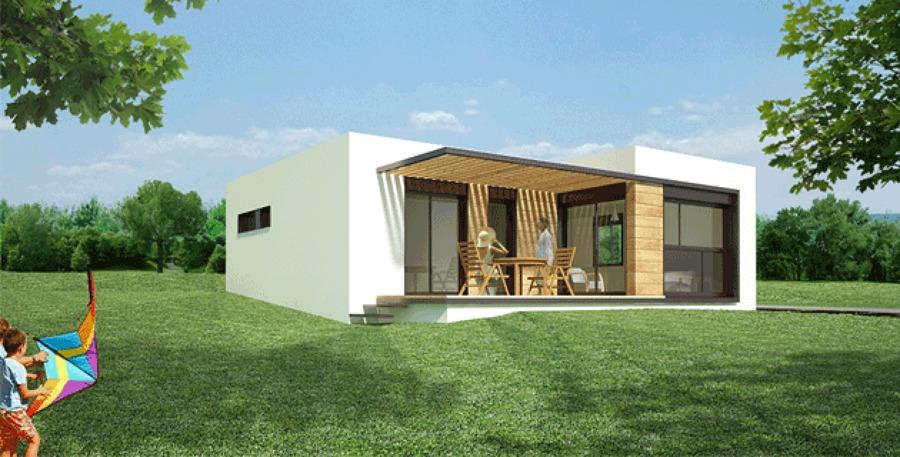 Casa prefabricada 3 dormitorios living comedor cocina - Habitaciones prefabricadas precios ...