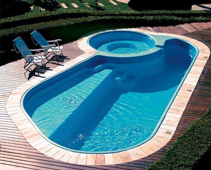 Construcci n de piscina terrazas y quincho lo barnechea - Precio construccion piscina ...