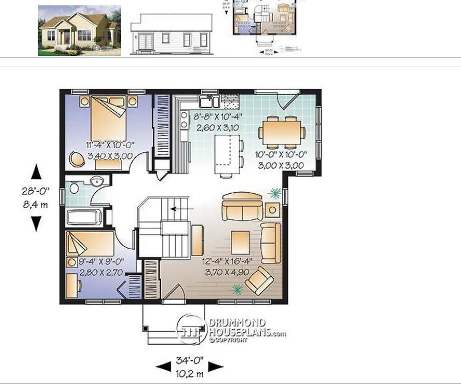 Construir casa con idea de planos aprox 80 metros for Piso 80 metros cuadrados