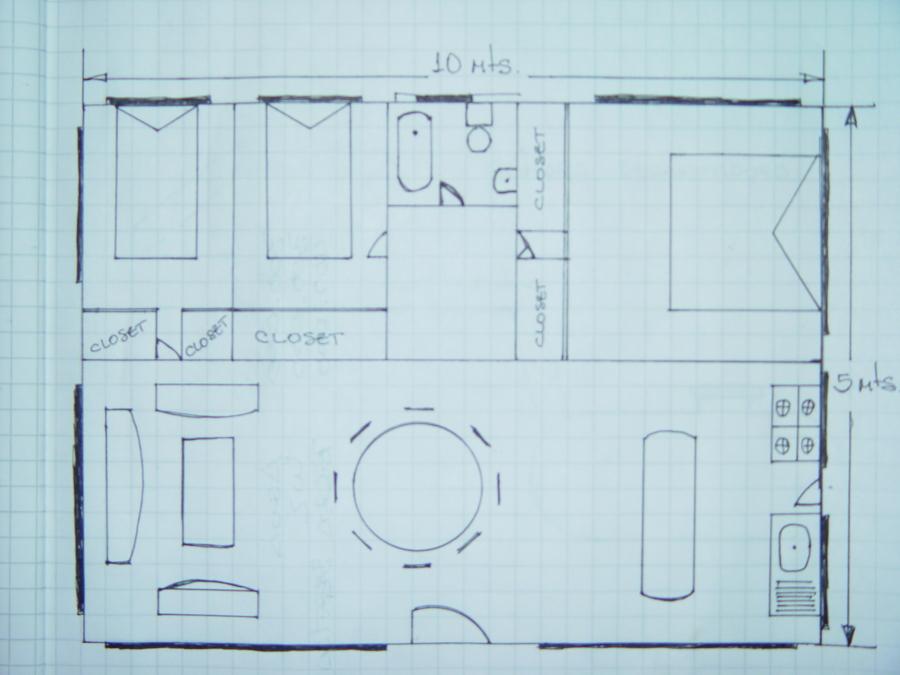 Casa prefabricada cobquecura 50 m2 cobquecura regi n - Presupuesto casa prefabricada ...