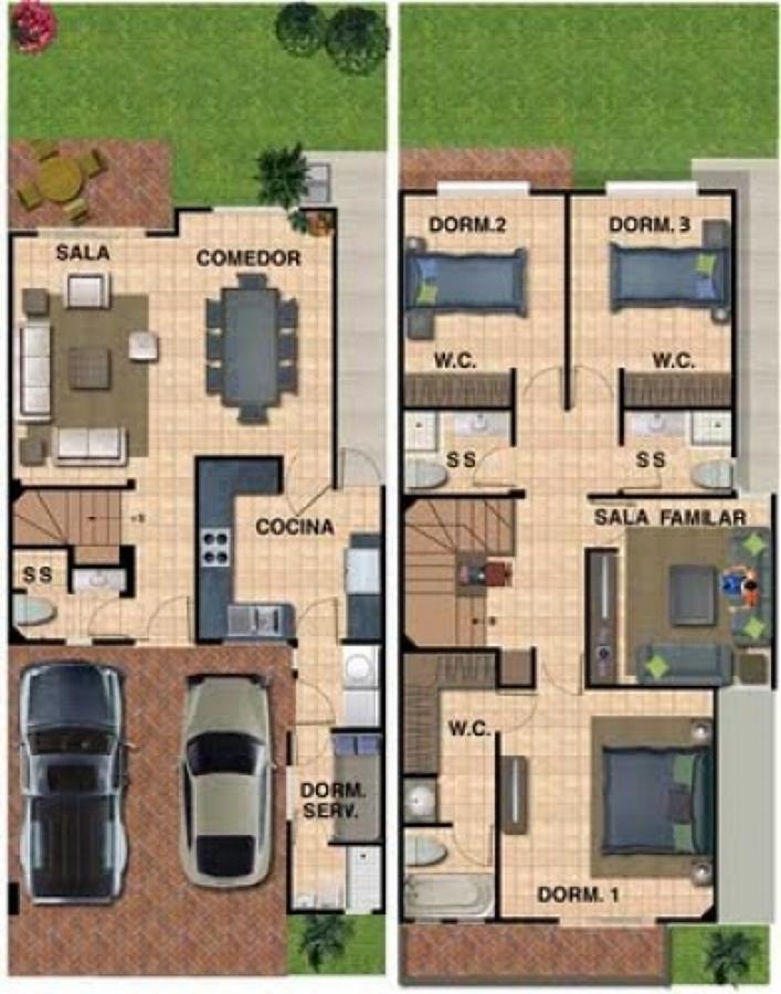 Presupuesto para construir casa de 100m2 valpara so for Construir casa precio m2
