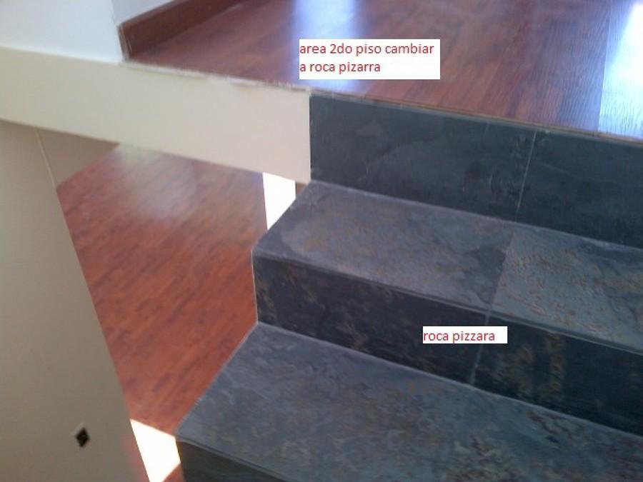Remodelacion pisos roca pizarra porcelanato madera - Piso de pizarra ...