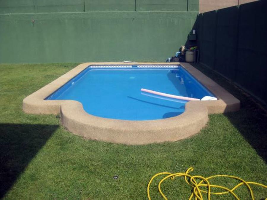 Construccion de quincho pergola y piscina romana la for Precio construccion piscina 6x3