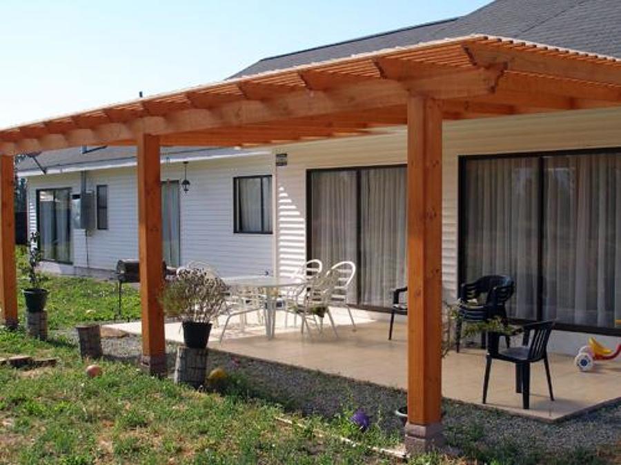 Modelos de pergolas para terrazas dise os for Modelos de terrazas