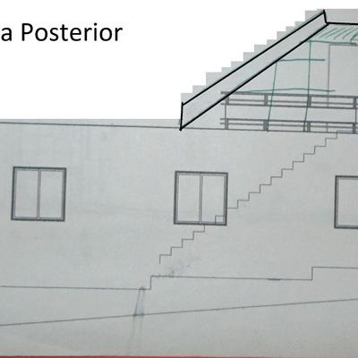03 -Plano casa  - Vista posterior_58015