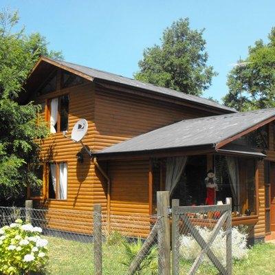 Construir casa madera en pucon 90 m2 puc n regi n ix la for Construir casa precio m2