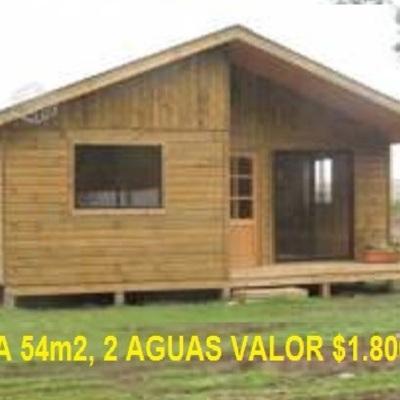 Casa Prefabricada De 54 Mts2 El Tabo Region V Valparaiso San