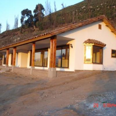 Construir casa s lida nueva en buin 240 m2 buin regi n for Construir casa precio m2