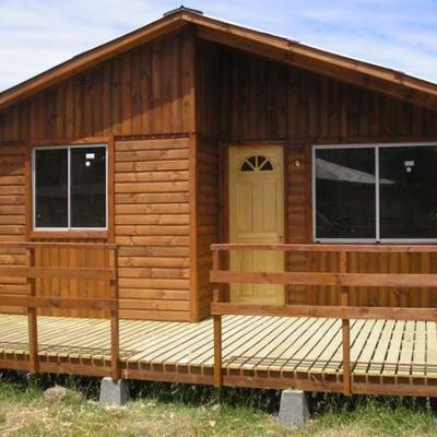 Construir caba a prefabricada 40 m2 queil n regi n x for Precios de cabanas prefabricadas