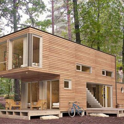 Construir casa prefabricada dos dormitorios dos ba os - Construir casa prefabricada ...