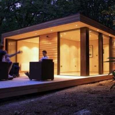 Cotizaci n 8 caba as puc n 50 m2 c u aprox prefabricadas for Precios de cabanas prefabricadas
