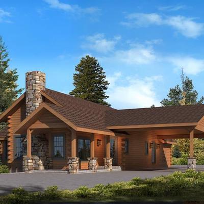 Construir casa parcela en santiago 200 m2 4 dorm ladrillo for Construir casa precio m2