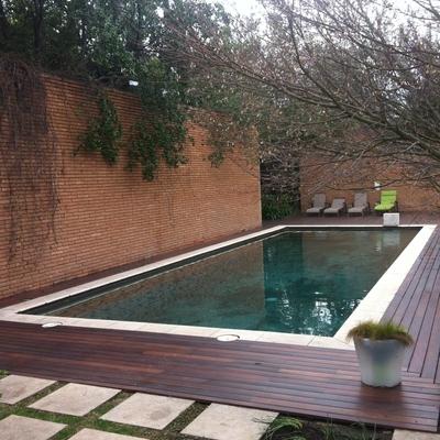 Cotizar una piscina de 8x4 y de 3x6 en hormig n puesta en casablanca casablanca regi n v - Costo piscina 8x4 ...