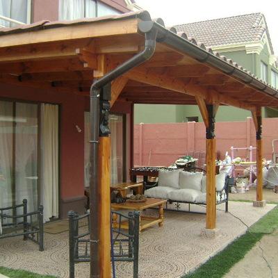 Construir techo terraza simple la florida regi n for La casa tiene un techo
