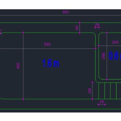 Construccion de piscina de hormigon curauma valpara so for Piscina 8x4 profundidad