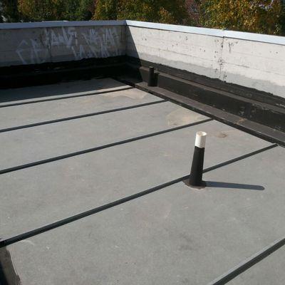 Limpieza de techo y canaletas casa mediterranea lo for Como hacer el techo de una casa