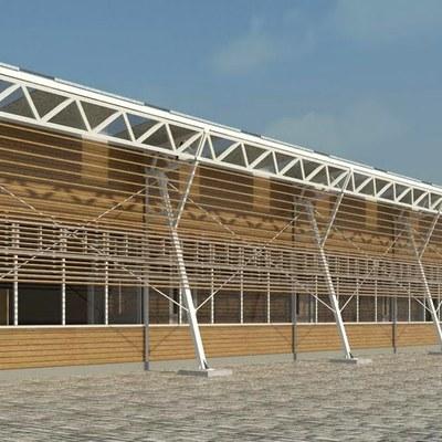 Precio estructura met lica con galvanizado por kg laja - Precio estructura metalica ...