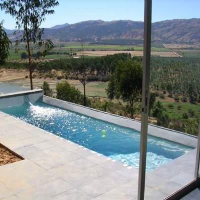 Construcci n de piscina en container villa alemana for Que necesito para construir una piscina