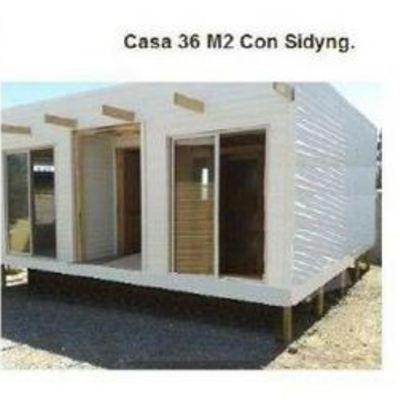 Casa Prefabricada Tipo Mediterranea Huara Region I Tarapaca