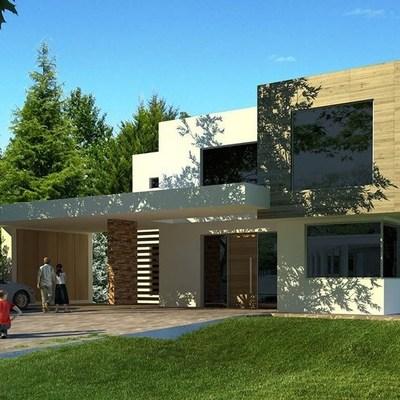 Construcci n casa en hormig n celular estilo mediterr neo for Construccion casas hormigon