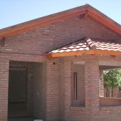 Construir obra gruesa de casa de 50 m2 con ladrillo fiscal - Casas de ladrillos ...
