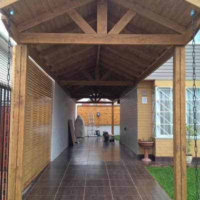 Cobertizo y pergola maip regi n metropolitana for Cobertizos madera economicos