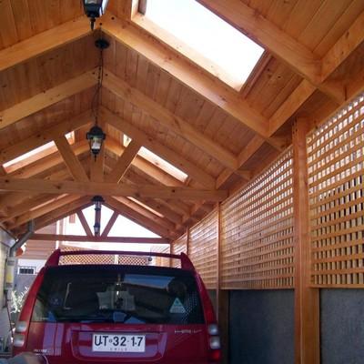 construcci n cobertizo en madera pudahuel regi n