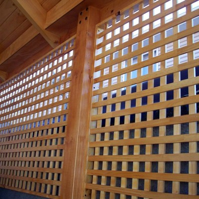 Construcci n cobertizo en madera pudahuel regi n for Precios de cobertizos