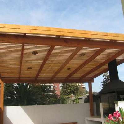 Construcci n de cobertizo el monte regi n metropolitana for Cobertizos de casas