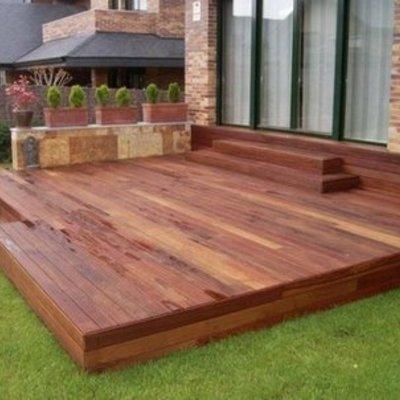 Precio para terraza piso deck lo prado regi n for Dec para terrazas