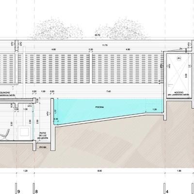 Instalaci n de piscina hormigon en paredones curic - Medidas de piscinas ...