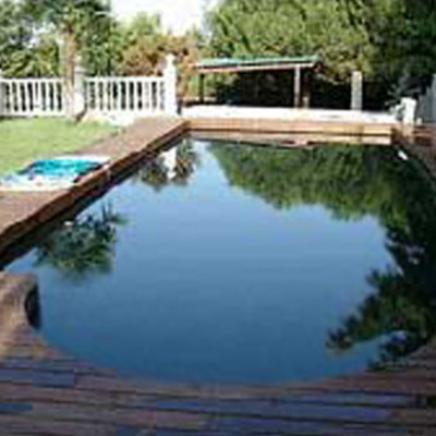 Construcci n p rgola de madera y deck piscina valpara so for Piscinas v region
