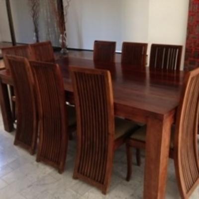 Flete comedor 10 sillas calama regi n ii antofagasta for Comedor 10 sillas