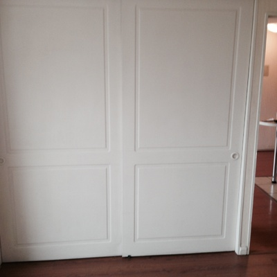 Remodelaci n closet habitaci n adem s pintar o cambiar for Colowall papel mural santiago