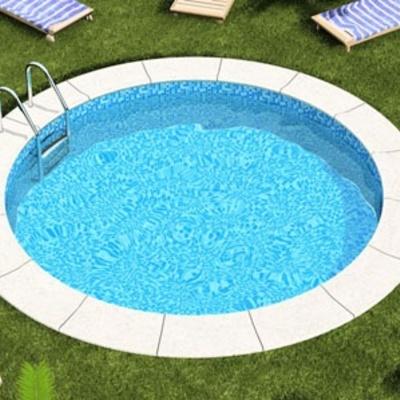 Una piscina redonda de juegos 3 metros de longitud y 50 cm for Presupuesto construccion piscina