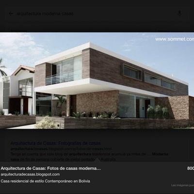 Construir casa moderna pr ctica limpiable no expuesta a calle construcci n s lida concreto - Construccion casa de piedra precio ...